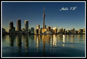Toronto, Toronto Skyline, Ontario, Canada,