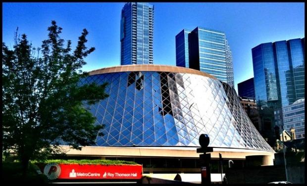 Roy Thompson Hall, Toronto, Ontario, Share Ontario, Explore Canada, photography, architecture