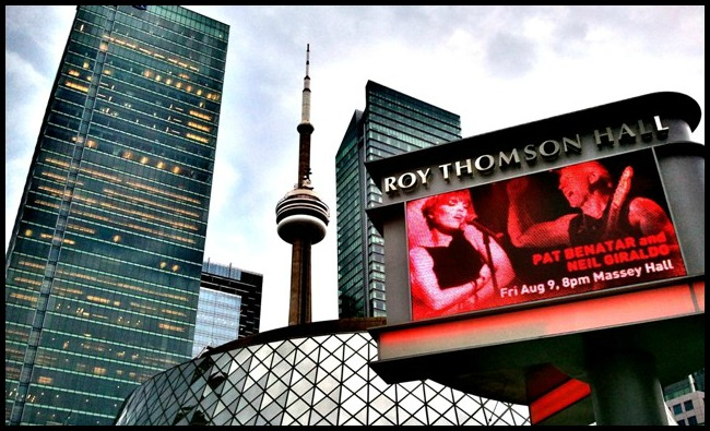 Roy Thompson Hall, CN Tower, Toronto, Ontario, Share Ontario, Explore Canada, photography, architecture