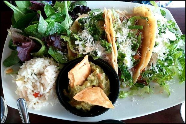 tacos, mexican food, comida mexicana, fresh food, guacamole, salad, mexican restaurant