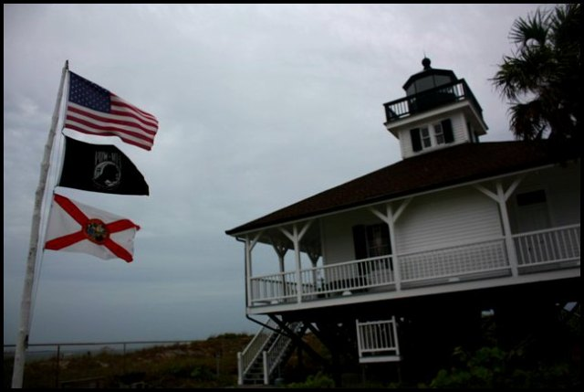 BocaGrande Lighthouse, museum, Boca Grande, Gasparilla Island, Charlotte Harbor, SW Florida, FL