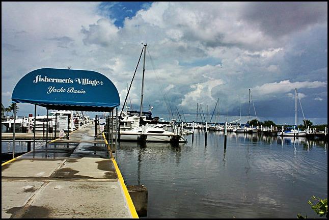 Marina, Yacht Bassin, Fishermen's Village, Punta Gorda, Florida, SW Florida
