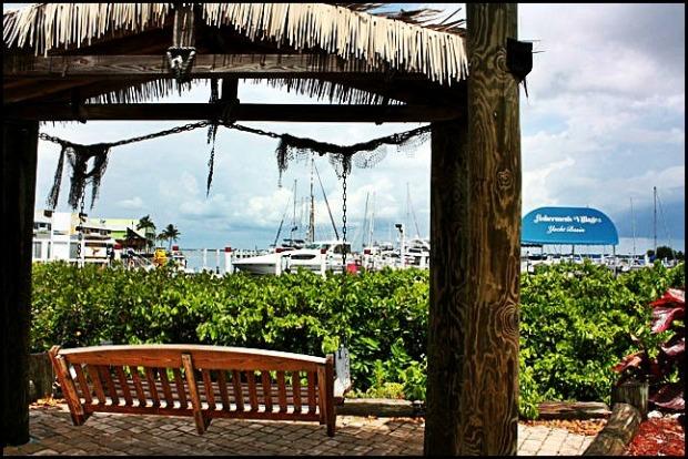 relaxation, rest, rest area, outdoor, view, Fishermen's Village, Punta Gorda, Florida, SW Florida