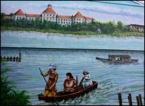 mural, Fishermen's Village, Punta Gorda, Florida, SW Florida, art