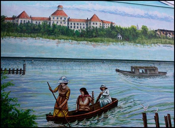mural, Fishermen's Market, Punta Gorda, Florida, SW Florida, art
