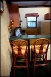 Fully furnished Kitchen, Fishermen's Village, Luxury Villas, Resort, Punta Gorda, Florida, SW Florida, Hospitality,