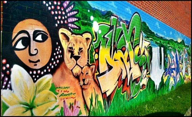 street art in Montreal, mural, street art, urban art, côte-des-neiges, montreal, quebec