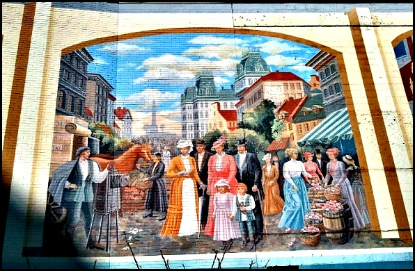 street art in Montreal, mural, street art, urban art, downtown, centre-ville, montreal, quebec