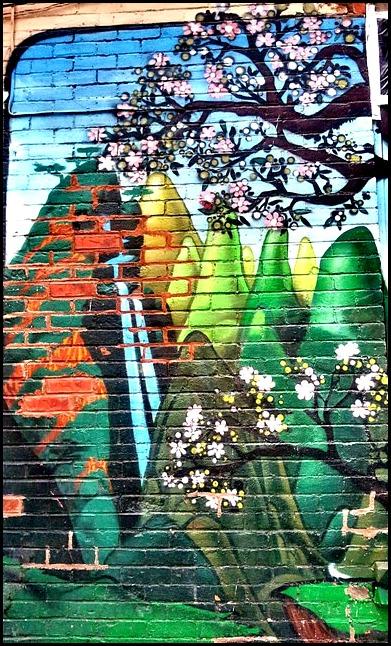 street art in Montreal, chinatown, quartier chinois, mural, street art, urban art, Ville-Marie, montreal, quebec