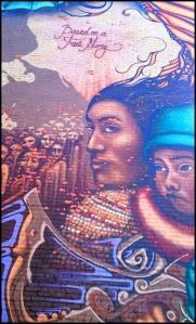 true story, mural, street art, urban art, Plateau Mont-Royal, montreal, quebec