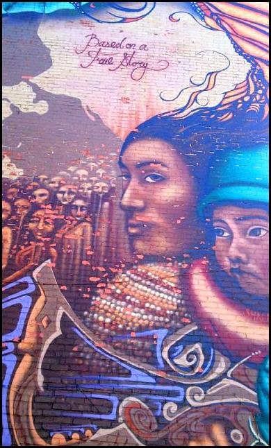 street art in Montreal, true story, mural, street art, urban art, Plateau Mont-Royal, montreal, quebec