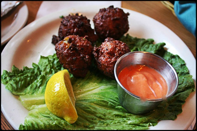 conch fritters, appetizer, Farlow's on the water, restaurant, Englewood, SWFL, Southwest Florida, Florida, Charlotte Harbor, Charlotte Harbor and the Gulf Islands, waterfront