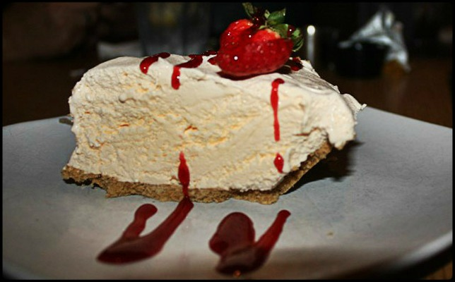 Key Lime Ice Cream Pie, dessert, sweets, Food, meal, Farlow's on the water, restaurant, Englewood, SWFL, Southwest Florida, Florida, Charlotte Harbor, Charlotte Harbor and the Gulf Islands