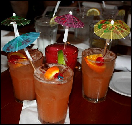 drinks, cocktails, The Fishery Restaurant, Placida, Florida, FL, Charlotte Harbor and the Gulf Islands, restaurant, SWFL, Florida, Discover USA