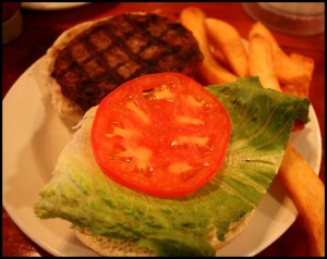 grilled burger, burger, food, The Fishery Restaurant, Placida, Florida, FL, Charlotte Harbor and the Gulf Islands, restaurant, SWFL, Florida, Discover USA