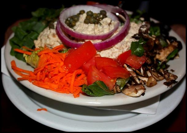 House Mixed Green Salad, salad, food, The Fishery Restaurant, Placida, Florida, FL, Charlotte Harbor and the Gulf Islands, restaurant, SWFL, Florida, Discover USA