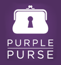 logo purple purse, All State Foundation, Purple Purse, Purple Purse Logo, Pass It On, Domestic Violence Awareness Month