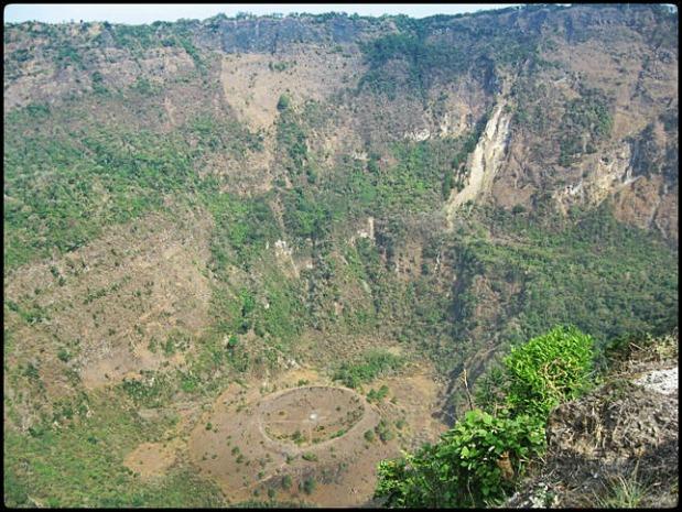 El Boqueron National Park, Parque Nacional El Boqueron in San Salvador, El Salvador, Central America