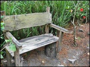 bench, asiento, El Boqueron National Park, Parque Nacional El Boqueron, San Salvador, El Salvador, park, parque, crater, bosque, forest, hiking, caminata, Centro America, Central America, Travel, Viaje