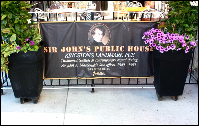 Sir Johns Public House, Kingston. Ontario, Canada, pub