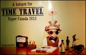 Time Travel Poster, Sir Johns Public House, Kingston. Ontario, Canada, pub