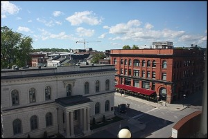 Old Court House, Kingston, Ontario, view, view from Four Points By Sheraton Kingston