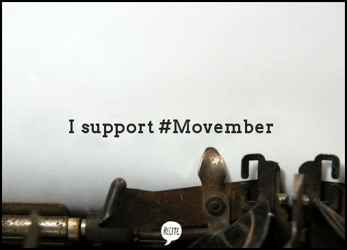 I support Movember, Movember, support. message