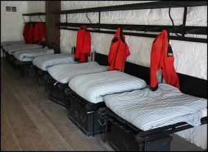 sleeping quarters, Fort Henry, Kingston, Ontario, Discover Ontario, Canada, Explore Canada