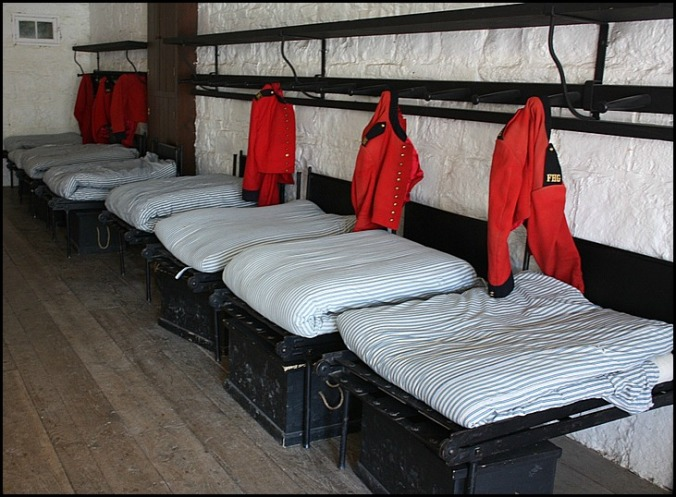 sleeping quarters, Fort Henry, Kingston, Ontario, Discover Ontario, Canada, Explore Canada