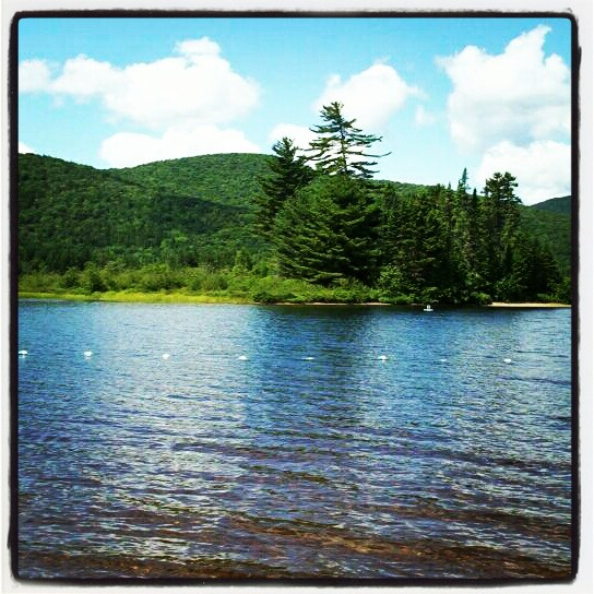 Lake Monroe, The Laurentians, Quebec, Canada, Lake, Lac