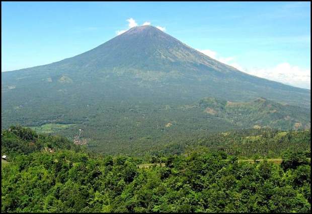 Mount Agung, Bali, Indonesia, SE Asia, mount, volcano, nature, view