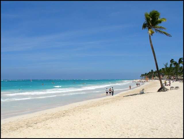Playa Bavaro, Punta Cana, Dominican Republic, Republica Dominicana, beach, white sand, Caribbean, Caribe, travel, viaje