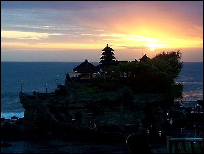 Tanah Lot, temple, Hindu Temple, prayer, Bali, Indonesia, SE Asia, spiritual center, sunset