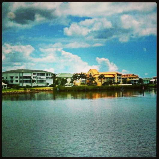 Peace River, Harbor front, Punta Gorda, Florida, Southwest Florida, USA