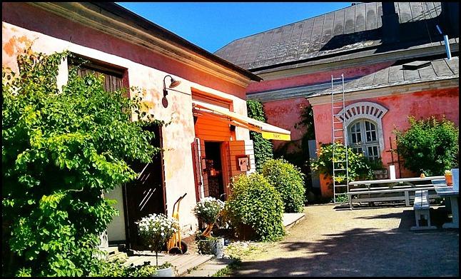 café, coffee shop, Suomenlinna, Helsinki, Finland, travel, photography