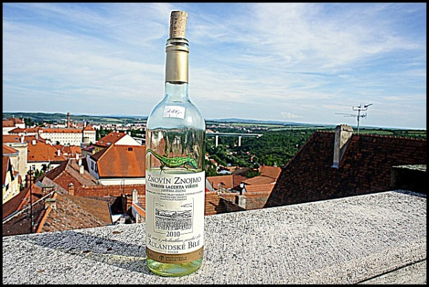 wine bottle, bottle, view, Znojmo, Czech Republic, Europe, travel, photography