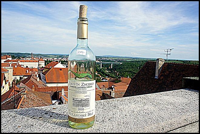 wine bottle, bottle, view, Znojmo, Czech Republic, Europe, travel, photography