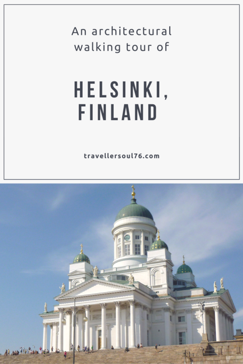 Love architecture? Then Go on an architectural tour of Helsinki, Finland. You'll love the many styles, shapes and colors found around the Finnish Capital.