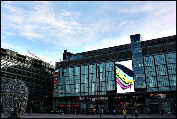 Kamppi Square, Helsinki, Finland, Helsingfors, visit Helsinki, visit Finland, Helsinki Tourism