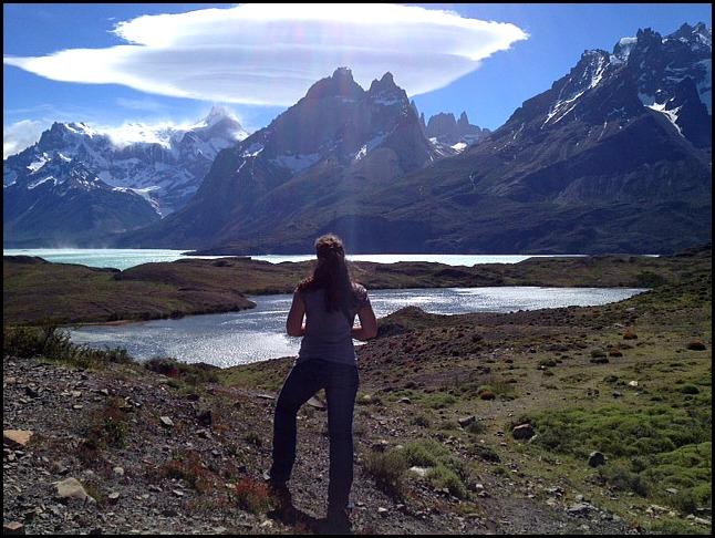 Admiring Torres del Paine