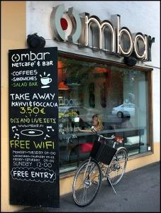 architecture, café, coffee, coffee shop, Ombar, Helsinki, Finland, Helsingfors, visit Helsinki, visit Finland, Helsinki Tourism