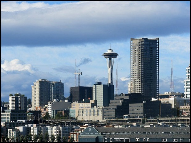 Seattle skyline, Seattle, NW, West Coast, Emerald City, travel, photography, Discover USA
