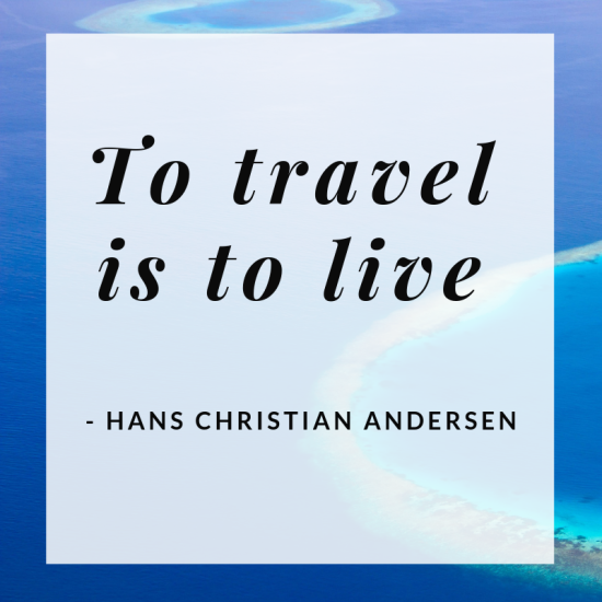 To travel is to live. It sure is true don't you think? #travelquote #travel #travelblog #inspiration #qotd