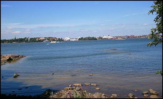 view, city view, Länsi-Musta Island, Suomenlinna, Helsinki, Finland, travel, photography