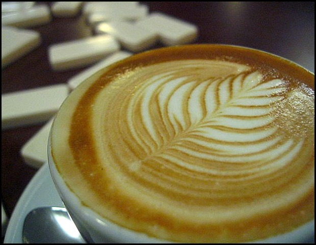 latte, Vivace Coffee, coffee, café, Seattle, NW, Emerald City, drink, bebida