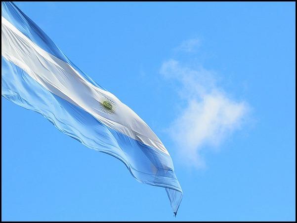 Argentinian flag, bandera de Argentina, biceleste, flags, South America, America del sur