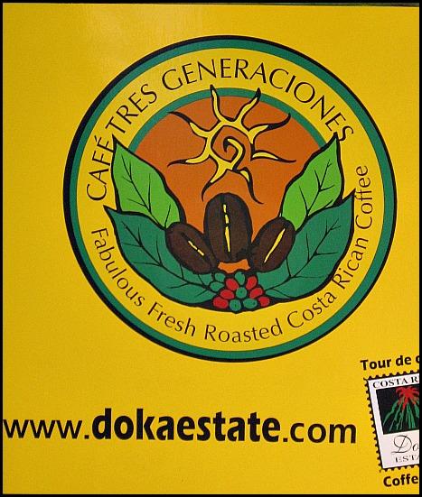 Café Tres Generaciones, coffee, Doka Estate, Alajuela, Costa Rica, Centro America, coffee plantation