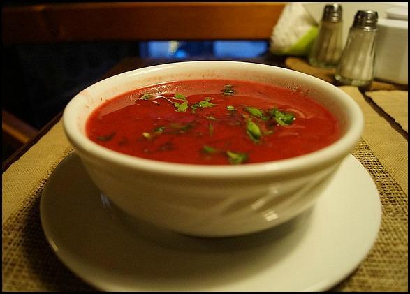 Gazpacho, cold tomato soup, tomato soup, Spanish food, foodie, foodporn, España