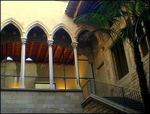Museu Picasso, Picasso Museum, Barcelona, Spain, Catalunya, view, travel