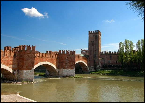 Castel Vecchio, Verona, Italy, travel, photography, view